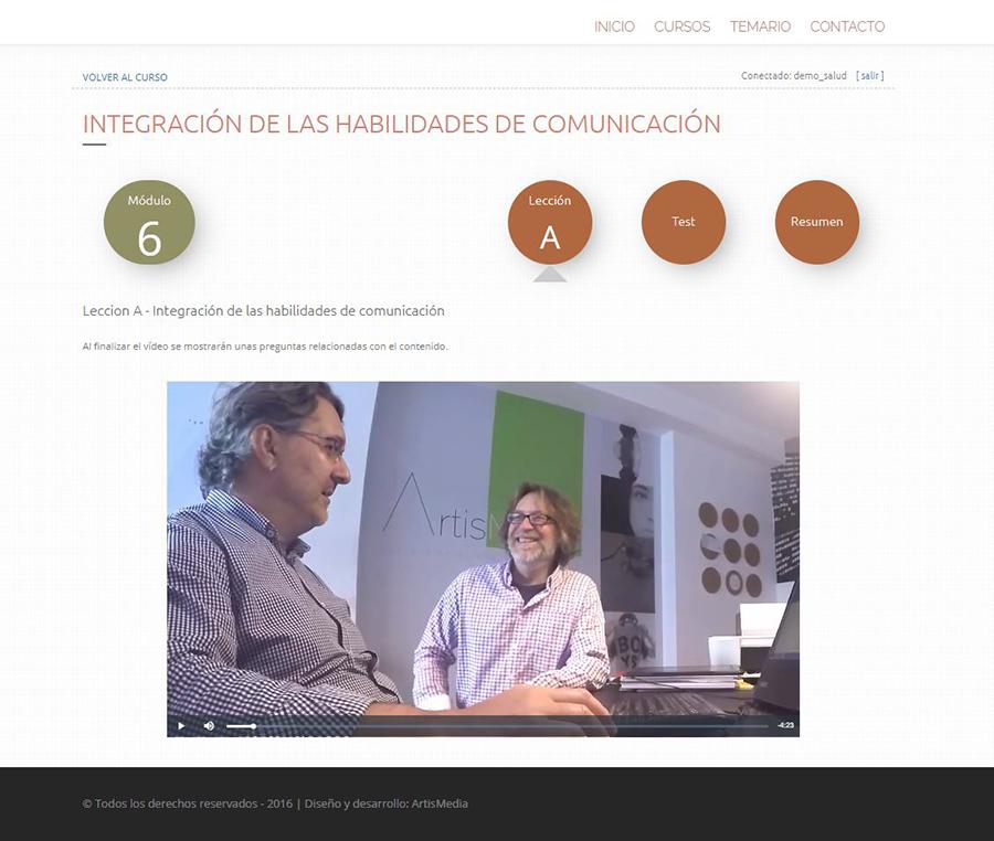 Curso habilidades de la comunicación en contexto sanitario